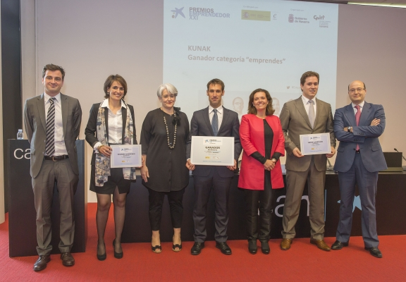 RECOMBINA gets second place in the Entrepreneur XXI Award in Navarra